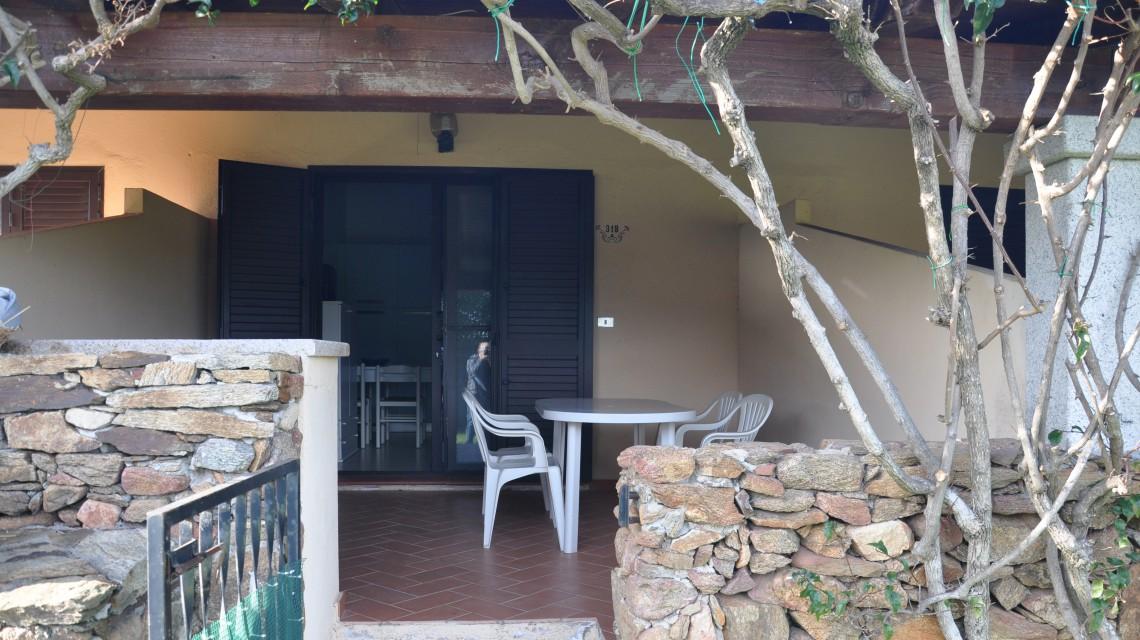 Residence San Teodoro 1. Veranda appartamento bilocale